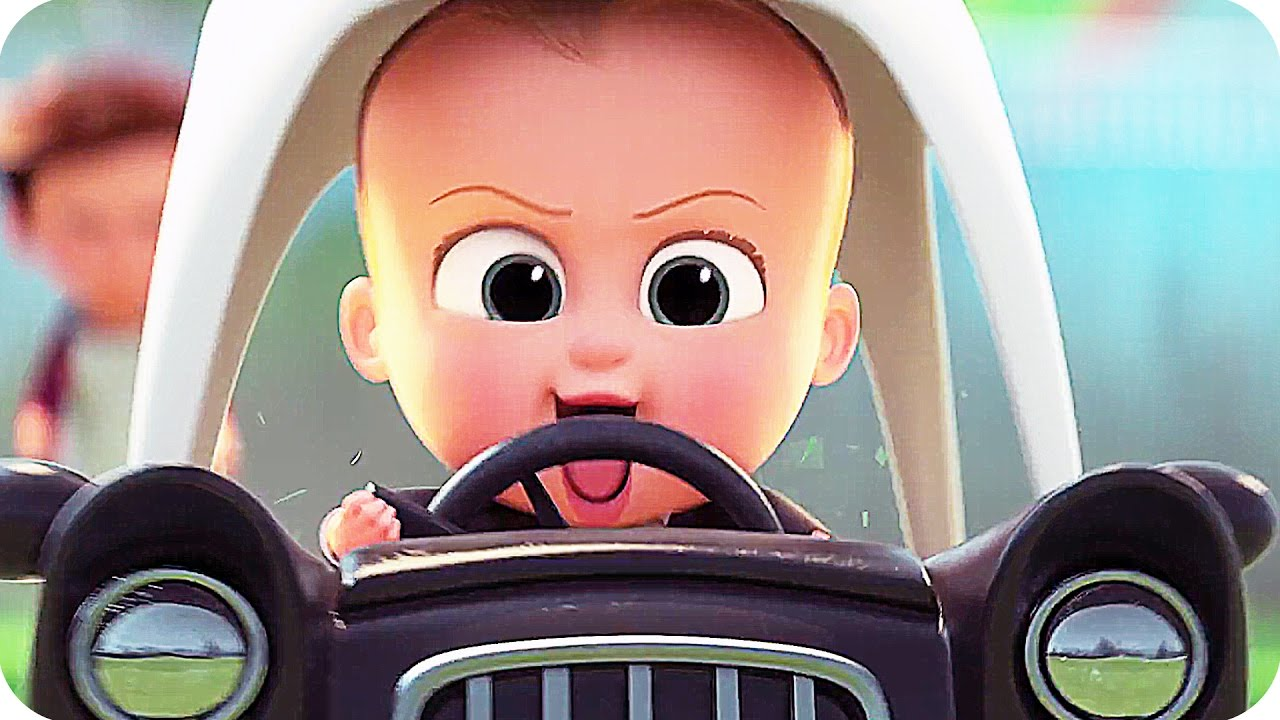 THE BOSS BABY Trailer 2 (2017) Alec Baldwin Animated Movie - YouTube