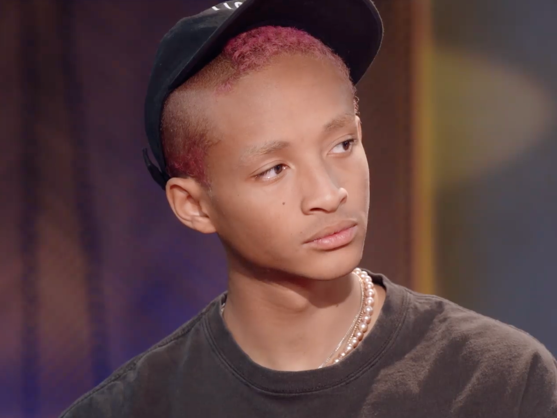 Jaden Smith says people offered him food and questioned his health ...
