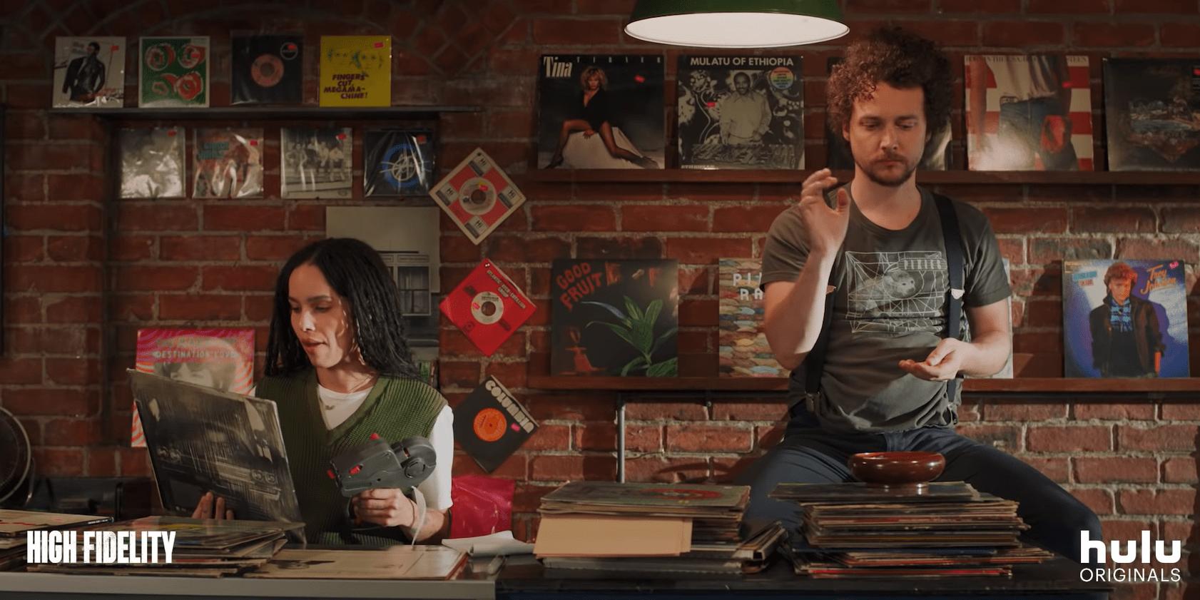 Hulu's High Fidelity Remake With Zoë Kravitz ...
